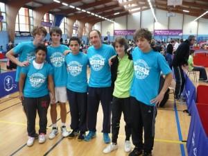 La fine équipe CDF à Niort 2014.