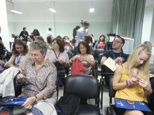 conférence à Liceo scientifico A. Diaz